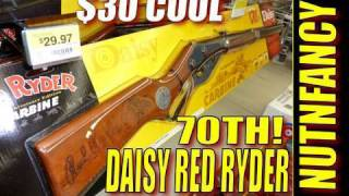 "Daisy Red Ryder 70th Anniversary Gun:  ""$30 COOL"" by Nutnfancy"