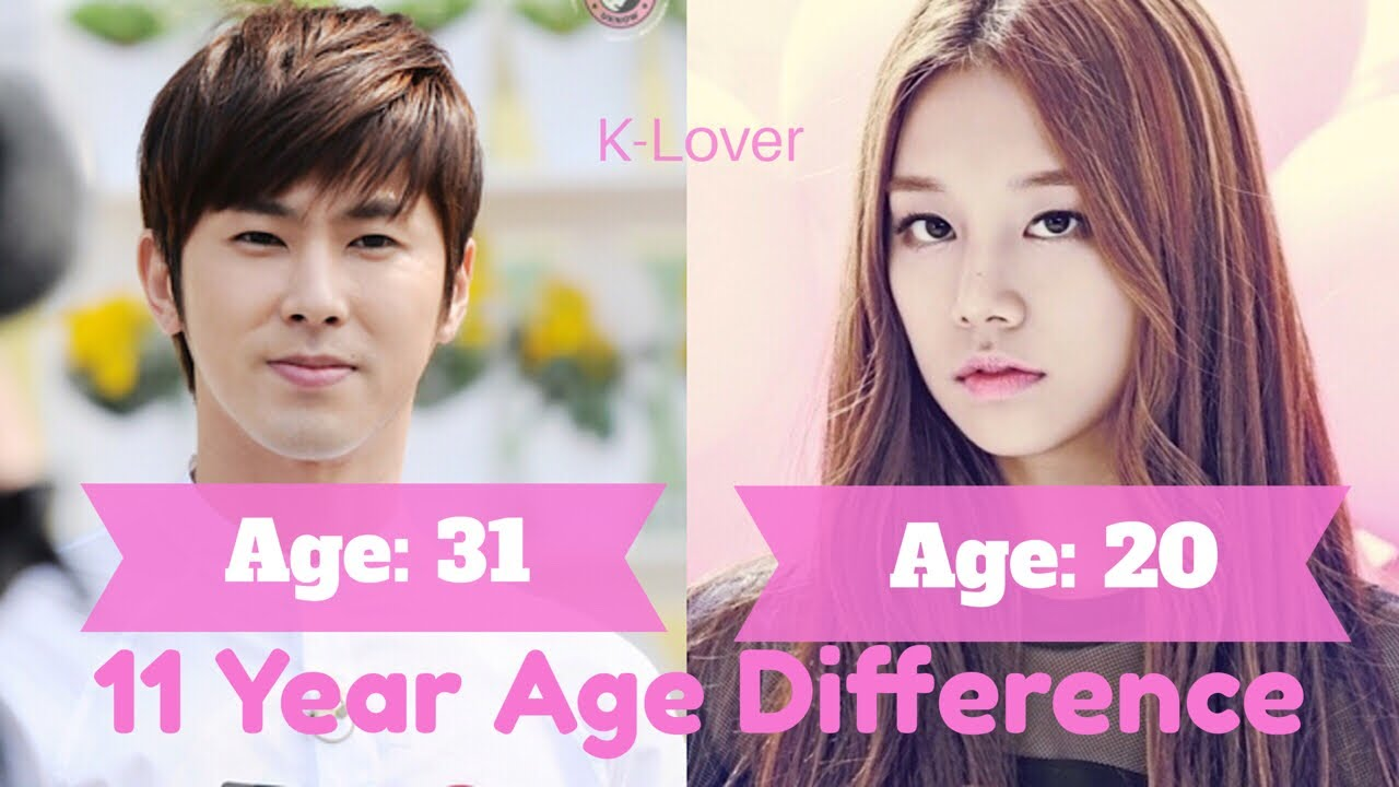 Age differences in Korean Love Relationships