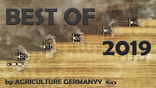 Big Farming in East Germany 2019 ▶ Agriculture Germanyy