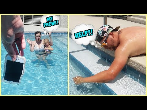 DID JESSE THROW TERRA'S iPHONE INTO THE POOL?! SOMEONE CALL A LIFEGUARD NOW!!