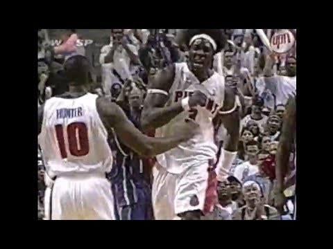 2004 Pistons Force 24 Turnovers, Finish 12 Dunks (Ben Wallace Draws Five Offensive Fouls)