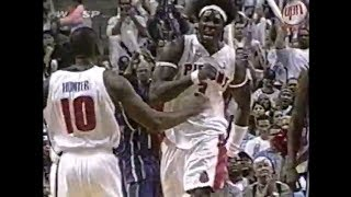 2004 pistons force 24 turnovers finish 12 dunks ben wallace draws five offensive fouls