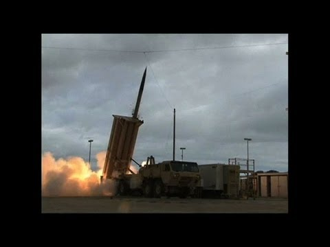 US deploys missile defense system to Guam