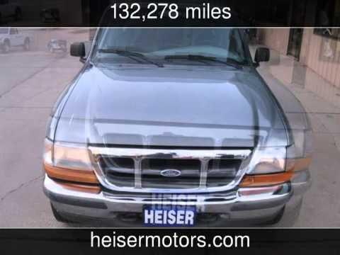 1998 ford ranger xl used cars dickinson north dakota for Heiser motors dickinson nd