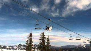 Squaw Valley - Big Foot  Sasquatch and the abominable snowman on Siberia Lift