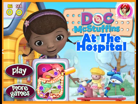 Disney Junior Games Doc McStuffins Doc McStuffin Hospital Game For - Doc games