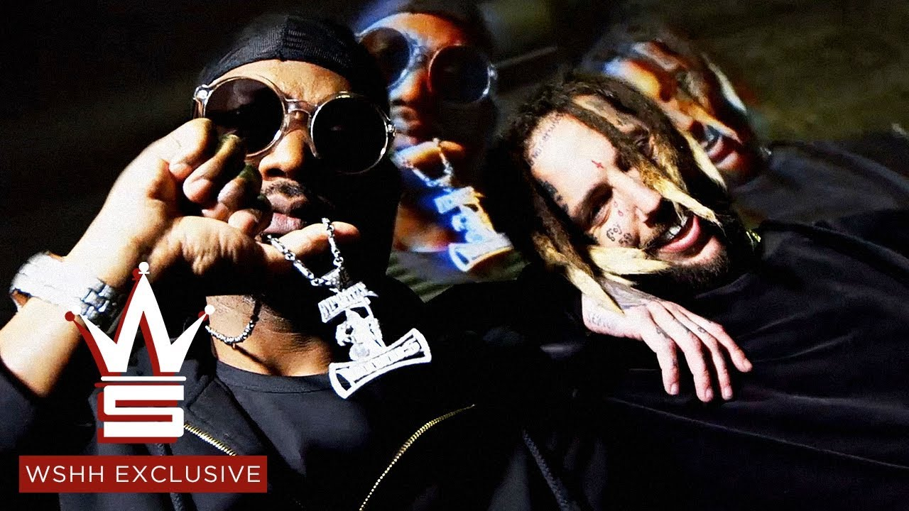 "Juicy J ""Choke Hold"" (Prod. by $uicideboy$) (Official Music Video)"