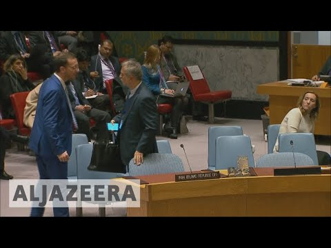 Iran protests United Nations emergency meeting