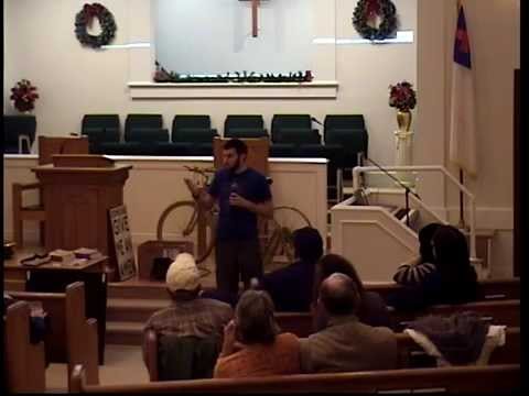 Lecture on DIY Alternative Energy by 7 Trumpets Prepper in South Carolina 1/9/15