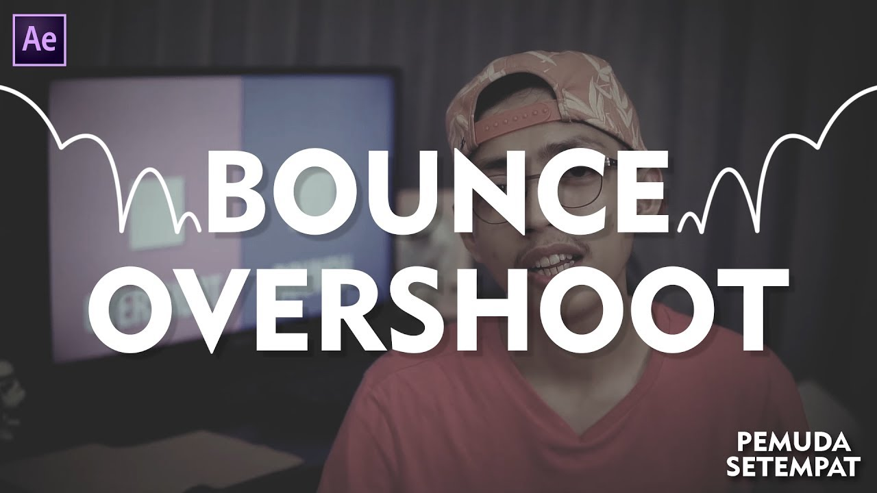After Effect | Tutorial - Bounce & Overshoot Expression