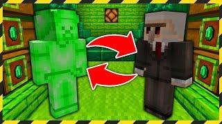 Minecraft FERAJNA: ZOSTAŁEM WROBIONY W BYCIE ZIELONYM STEVEM!