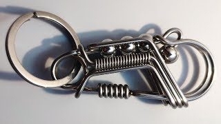 The Naughty metallic line Keychains