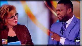 Rapper '50 Cent' Had Enough Of Joy Behar's Race-Baiting And Dismantles Her On Live TV