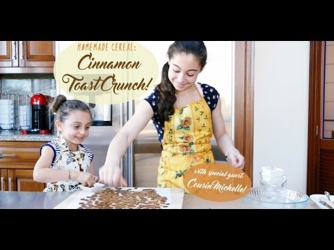 Cooking with Isabella: HOMEMADE CINNAMON TOAST CRUNCH CEREAL!