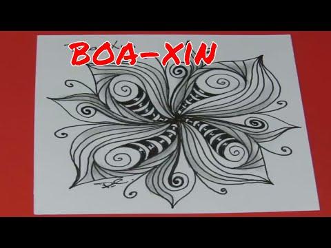 Boa-Xin - a fun organic pattern