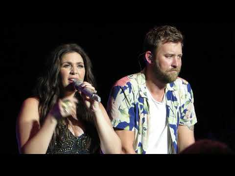 "Lady Antebellum ""Thy Will"" Live @ PNC Bank Arts Center"