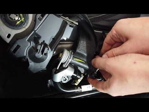 How to replace the front seat belts on Range Rover L405 & Sport L494