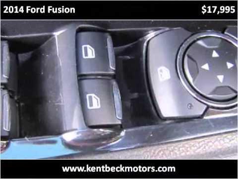 2014 ford fusion used cars abilene tx youtube for Kent beck motors abilene