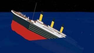 ROBLOX Titanic Sinks in a Minute