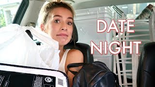CLOSET ORGANIZATION + OUR FIRST DATE NIGHT | leighannvlogs