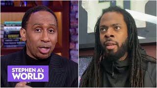 Richard Sherman reacts to Super Bowl LV and talks about his NFL future | Stephen A's World