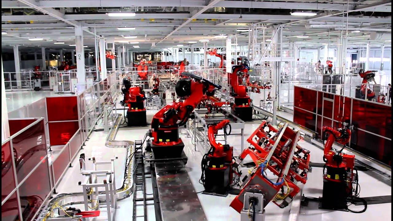 Tesla Model S Factory Tour Youtube