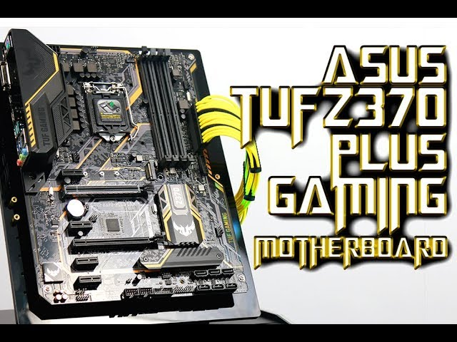 ASUS TUF Z370 Plus Gaming Intel 8th Gen Coffee Lake Motherboard Overview in Bangla | PCB BD