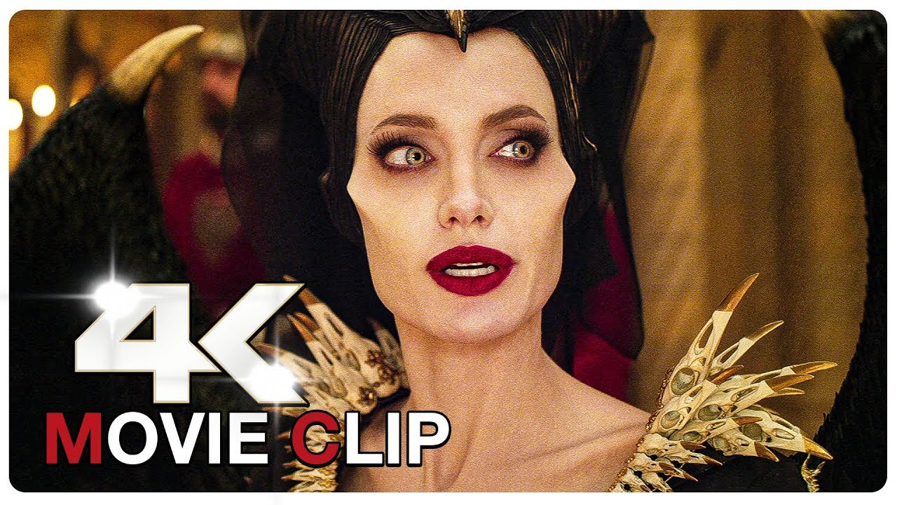 Maleficent Vs Queen Ingrith Argument Scene Maleficent 2 Mistress Of Evil 2019 Movie Clip 4k