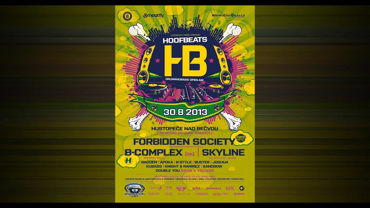 Download B-Complex - HB Open Air 2013 (Drum and Bass Promo Mix)