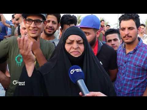 عودة التظاهرات إلى البصرة بعد رفض الحكومة تنفيذ مطالب المتظاهرين  - 18:22-2018 / 7 / 20