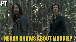 The Walking Dead Season 7 Episode 16 Negan Knows Maggie Is Alive? Discussion & Spoilers TWD 716