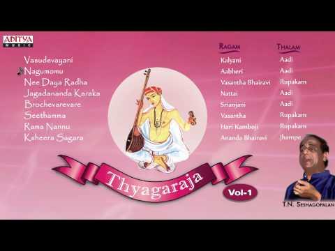 Thyagaraja Vol 1 || Classical Vocal ||  Maharajapuram Santhanam
