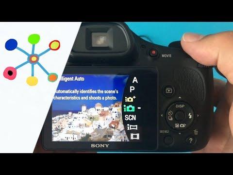📸 👉 Sony CYBER-shot DSC-HX350 Camera Setup ( Fényképezőgép  Menű)