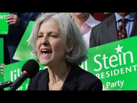 Why is the Green Party's Jill Stein Running to be President?