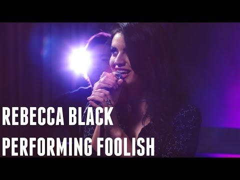 REBECCA BLACK Performs FOOLISH
