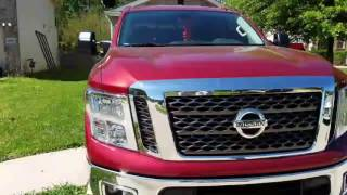 2017 nissan titan 5 6 exhaust video