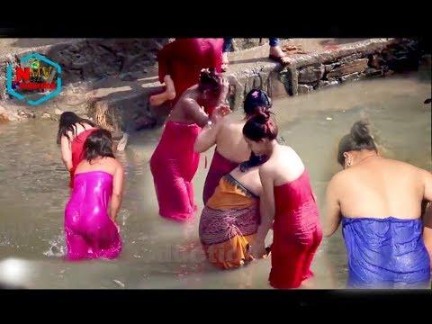 Salinadi Holi Bath 2018