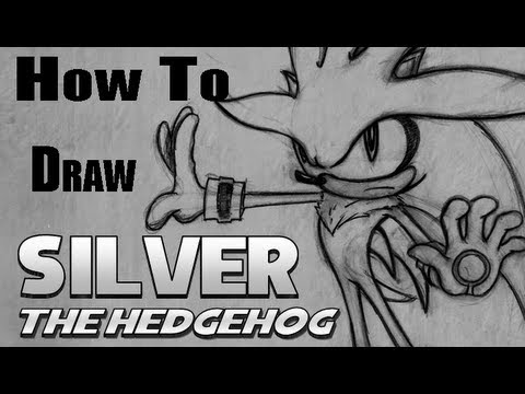 How To Draw Silver The Hedgehog