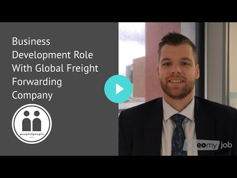 Business Development Role With Global Freight Forwarding Company