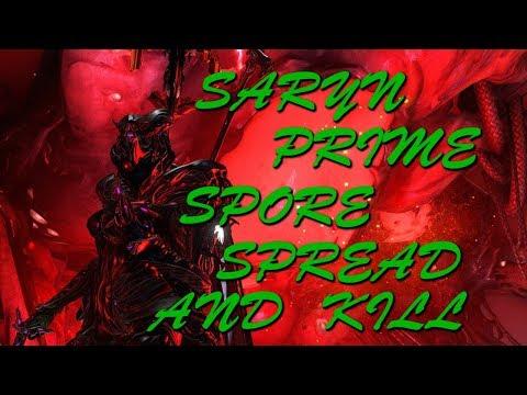 Warframe Saryn Prime: Spore Build - Solo Survival MOT Every Frame (full run)