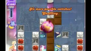 Candy Crush Saga DREAMWORLD level 154 No Boosters
