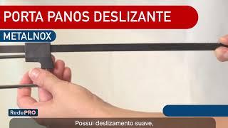 Porta Pano Deslizante - Metalnox
