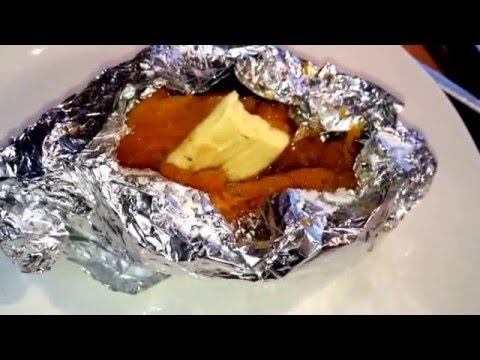 CAMOTES ASADOS CON CANELA Y MANTEQUILLA, ROASTED SWEET   POTATOES WITH CINNAMON AND BUTTER
