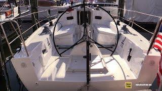 2017 J-Yachts J112e - Walkaround - 2017 Annapolis Sail Boat Show