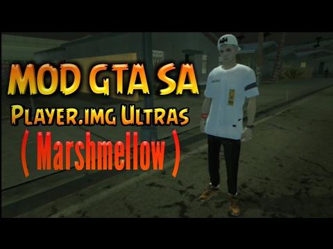 GTA SA Android Mod    Player Img Ultras - Skin Marshmello