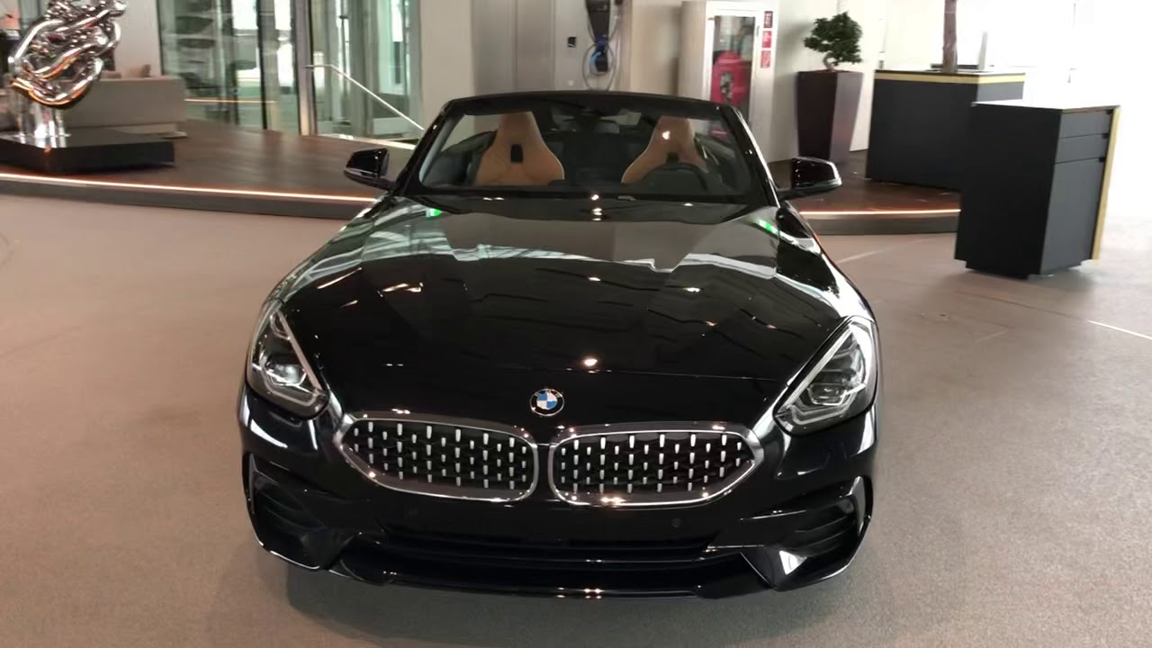All New Bmw Z4 G29 2019 Sapphire Black Saphir Schwarz Youtube