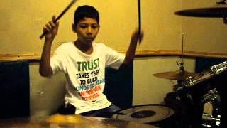 galih drummer powerfull OXA Music Course kursus musik anak surabaya