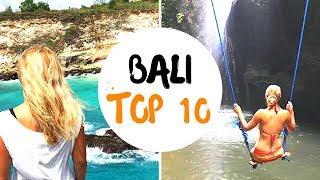 Bali Reisetipps Top 10 ❤️ Bali Highlights + Bali Rundreise Route 🌍