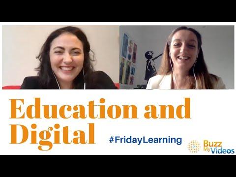 Education & Digital: FridayLearning with Francesca Mastrogiacomi - Education & Digital Expert