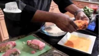 Culinary Creations W Chef Jay Shrimp Stuffed Pork Chops
